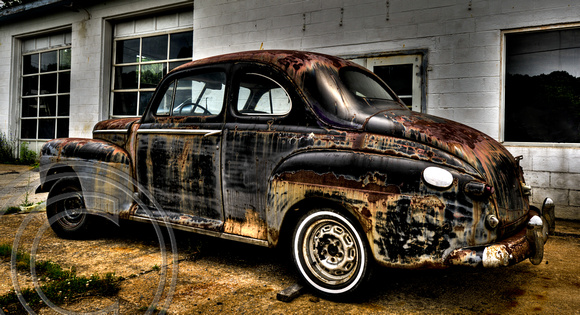 Old Ford Coupe